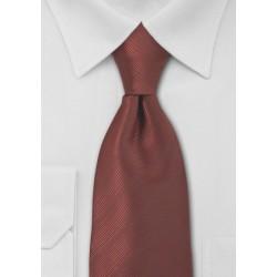 Bronze Red Kids Sized Tie