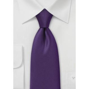 Designer Tie in Deep Purple