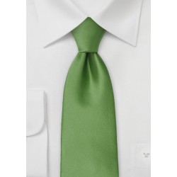 Fern Green Tie for Kids