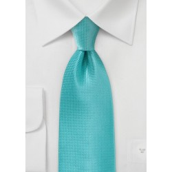 Textured Tie in Lagoon