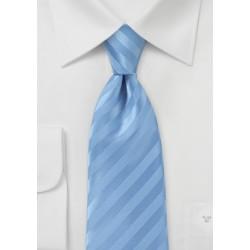 Narrow Men's Tie in Cornflower Blue