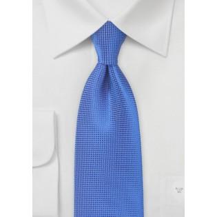 Textured Tie in Marine Blue