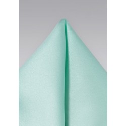 Glacier Blue Pocket Square