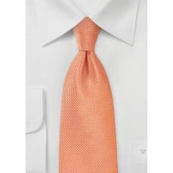 Mandarin Orange Necktie