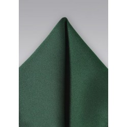 Dark Hunter Green Pocket Square