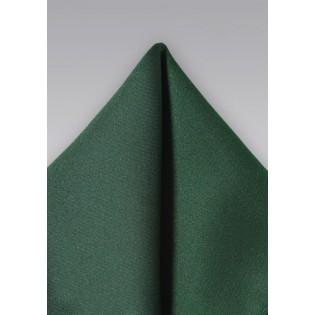 Dark Hunter Green Pocket Square