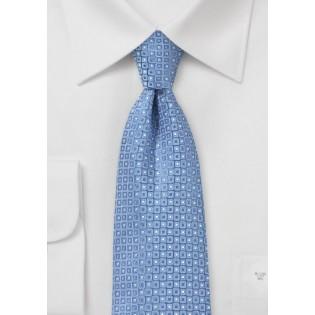 Sky Blue Designer Silk Tie by Cantucci