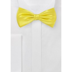 Bright Sunshine Bowtie Made from Pure Silk