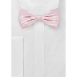 Ultra Light Pink Bow Tie