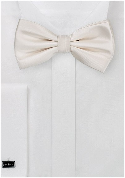 Champagne Color Bow Tie for Men