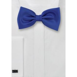 Bright Azure-Blue Men's Bow tie