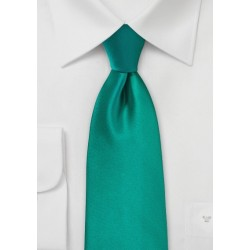 Jade Colored Necktie
