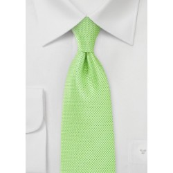 Bold Key-Lime Green Kids Necktie