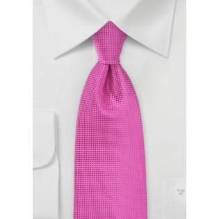 Kids Length Tie in Paradise Pink
