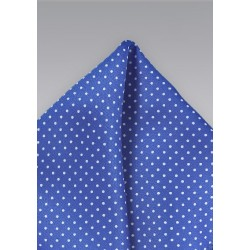 Horizon Blue and White Pocket Square