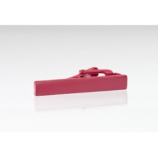 Matte Pink Colored Tie Bar