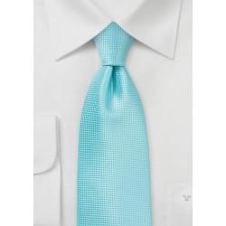 Summer Necktie in Aruba Blue