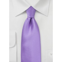 Royal Lilac Colored Necktie
