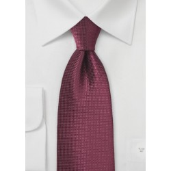 Rosewood Color Necktie