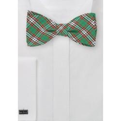 Scottish Tartan Plaid Bow Tie