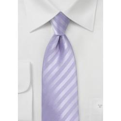 Kids Neck Tie in French Lavender