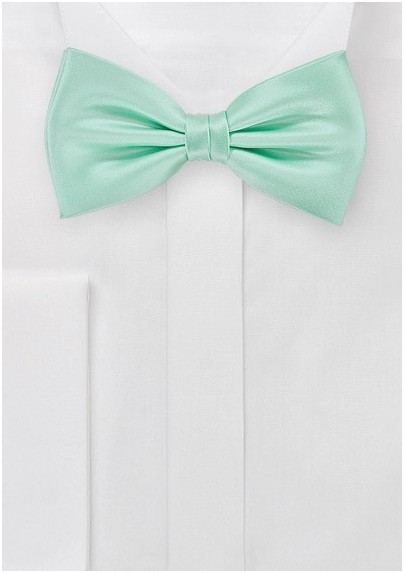 Honeydew Colored Bow Tie