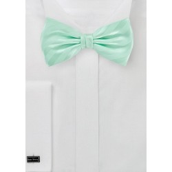Striped Bow Tie in Honeydew