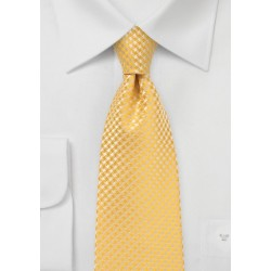 Dandelion Yellow Mens Necktie