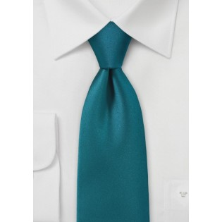 Solid Color Tie in Beyond the Sea Blue