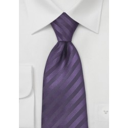 Two Toned Purple Kids Necktie