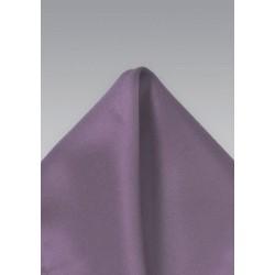 Pocket Square in Vintage Wisteria Purple