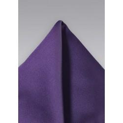 Majestic Purple Pocket Square