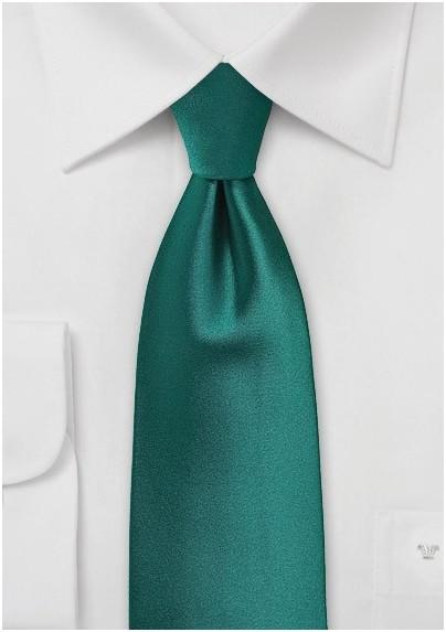 XL Necktie Everglade Green