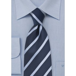 Navy and Light Blue Kids Tie