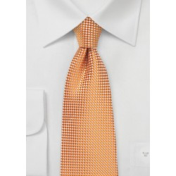 Summer Kids Neck Tie in Tangerine Orange
