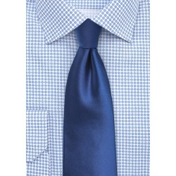 Royal Blue Tie in XL