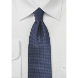 Kids Tie in Dark Navy Blue Color