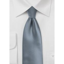 Classic Gray Kids Tie