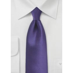 XL Tie in Violet Grape