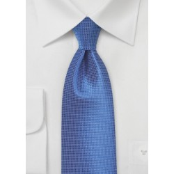 XL Tie in Victoria Blue