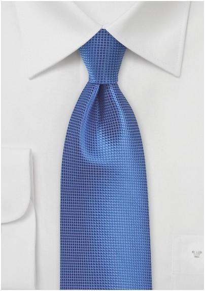 Kids Tie in Victoria Blue