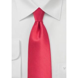 Grenadine Color Kids Tie