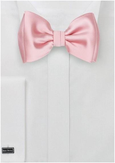 Bow Tie in Petal Pink