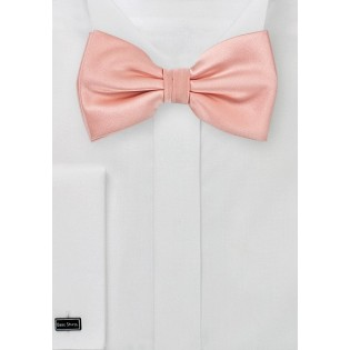 Candy Pink Mens Bow Tie