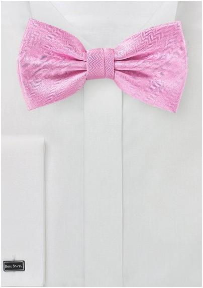Carnation Pink Bowtie