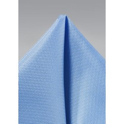 Matte Pocket Square in Sky Blue