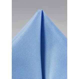Matte Pocket Square in Sky Blue