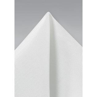 Formal Ivory Pocket Square