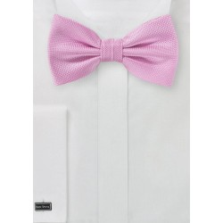 Carnation Pink Bowtie in Matte Finish