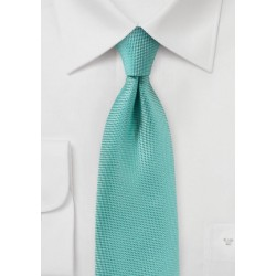 Mermaid Blue Matte Finish Tie